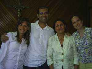 Rosana, Denilson, Dra. Ana Lúcia e Lorena